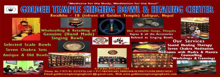 Golden Temple Singing Bowls & Healing Center - Art and Handicrafts - NepalB2B