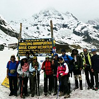 Annapurna Base Camp and Tent Peak - Travel and Trekking - NepalB2B