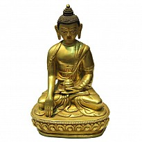 Gold Plated Buddha Statue - Art and Handicrafts - NepalB2B