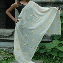 Embroidered Shawls - Apparel and Garments - NepalB2B