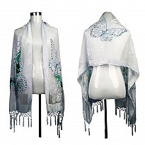 Fringe Beading Pashmina - Apparel and Garments - NepalB2B