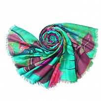 Digital Printed Pashmina - Apparel and Garments - NepalB2B