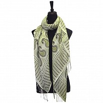 Screen Printed Pashmina - Apparel and Garments - NepalB2B