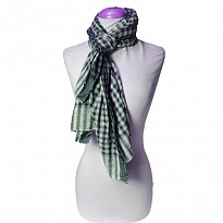 Checkered Pashmina - Apparel and Garments - NepalB2B