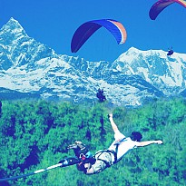 Bungee & Paragliding - Travel and Trekking - NepalB2B