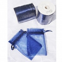 MEDIUM BAGS & POUCHES-NAVY BLUE - Art and Handicrafts - NepalB2B