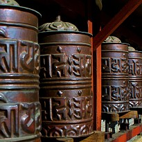Prayer Wheels (Gebetsmühlen) - Apparel and Garments - Art and Handicrafts - NepalB2B