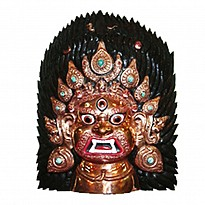 Bhairav Mask - Art and Handicrafts - NepalB2B