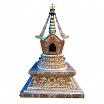Decorated Stupa - Art and Handicrafts - NepalB2B