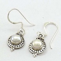 Silver earrings - Art and Handicrafts - NepalB2B
