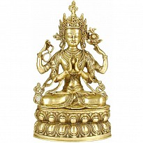 Tibetan Deities - Brass - Art and Handicrafts - NepalB2B