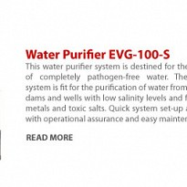Water Purifier EVG-100-S - Energy and Power - NepalB2B