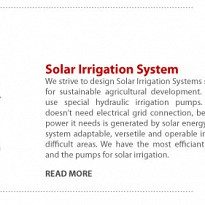 Solar Irrigation System - Energy and Power - NepalB2B
