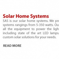 Solar Home Systems - Energy and Power - NepalB2B