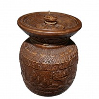 Wooden Pot(Traditional Theke) - Art and Handicrafts - Home Supplies and Services - NepalB2B