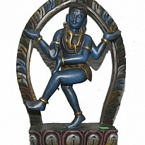 Colored Dancing Shiva - Art and Handicrafts - Furniture - NepalB2B